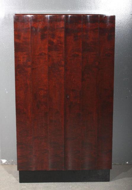 nordiska art deco armoire wardrobe bar cabinet j5791 for. Black Bedroom Furniture Sets. Home Design Ideas
