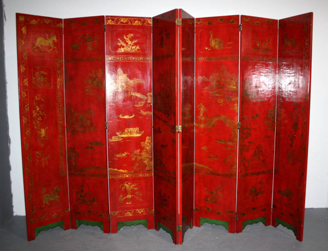 Large Chinoiserie Decorative Screen Room Divider M3848 For