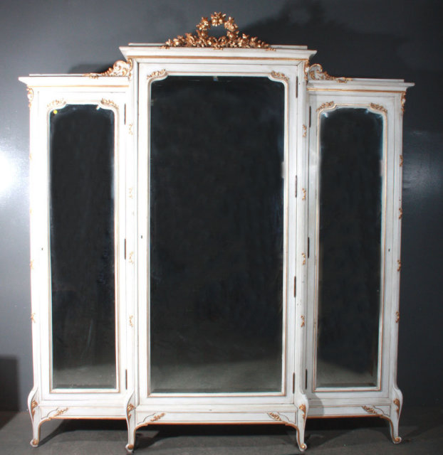 with french armoire country of oak mirror hardware handsome for sale ideas wardrobe also antique