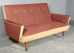 Amazing Great Mid Century Vintage Modern Italian Sofa Settee For Machost Co Dining Chair Design Ideas Machostcouk