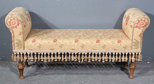 Brilliant Special Embroidered French Tassle Window Bench Seat For Sale Ncnpc Chair Design For Home Ncnpcorg