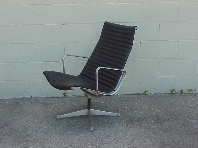 Herman Miller Aluminum Group Lounge Chair Eames For Sale Cla