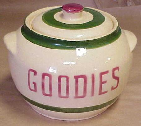 Watt Goodies Cookie Jar 76 For Sale
