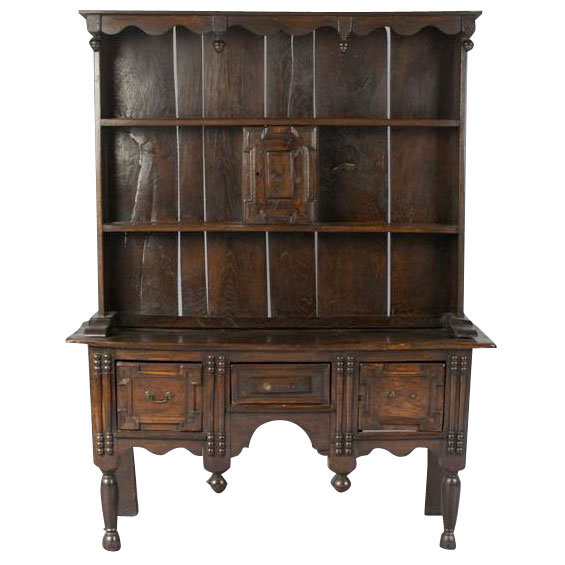 A JACOBEAN STYLE WELSH DRESSER For Sale | Antiques.com ...