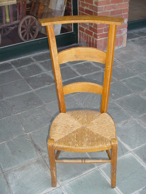 French Antique Prayer Chair Late 1800 S For Sale