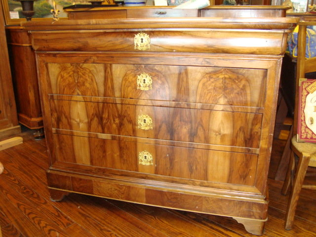 Here Is A Wonderful And Very Valuable French Louis Philippe Period Chest Of Drawers Four Made In The 1830 S During King