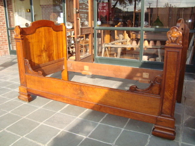 French Second Empire Bed, Circa 1860   For Sale