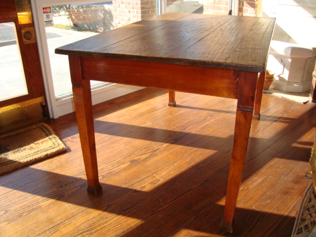 French Country Farm Table Circa 1920 For Sale Antiques
