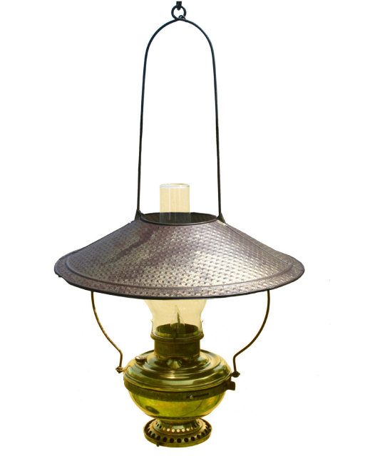 Antiques » Antique Lamps And