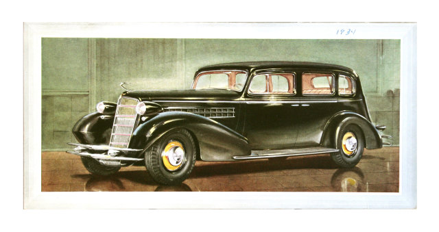 Cadillac Sales Folder, 1934 Sedan For Sale | Antiques com | Classifieds