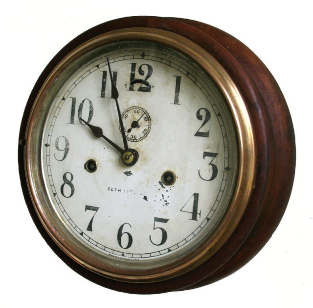 Wall Clock For Sale Antiquescom Classifieds