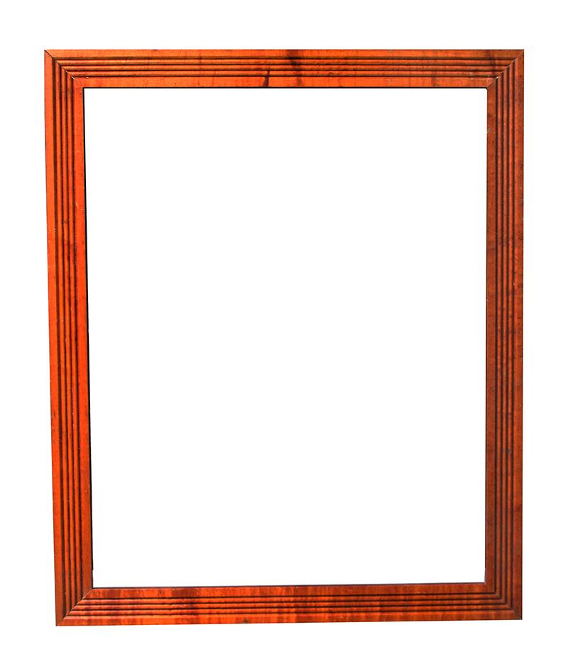 Tiger Maple Frame item #808ME100 For Sale | Antiques.com | Classifieds