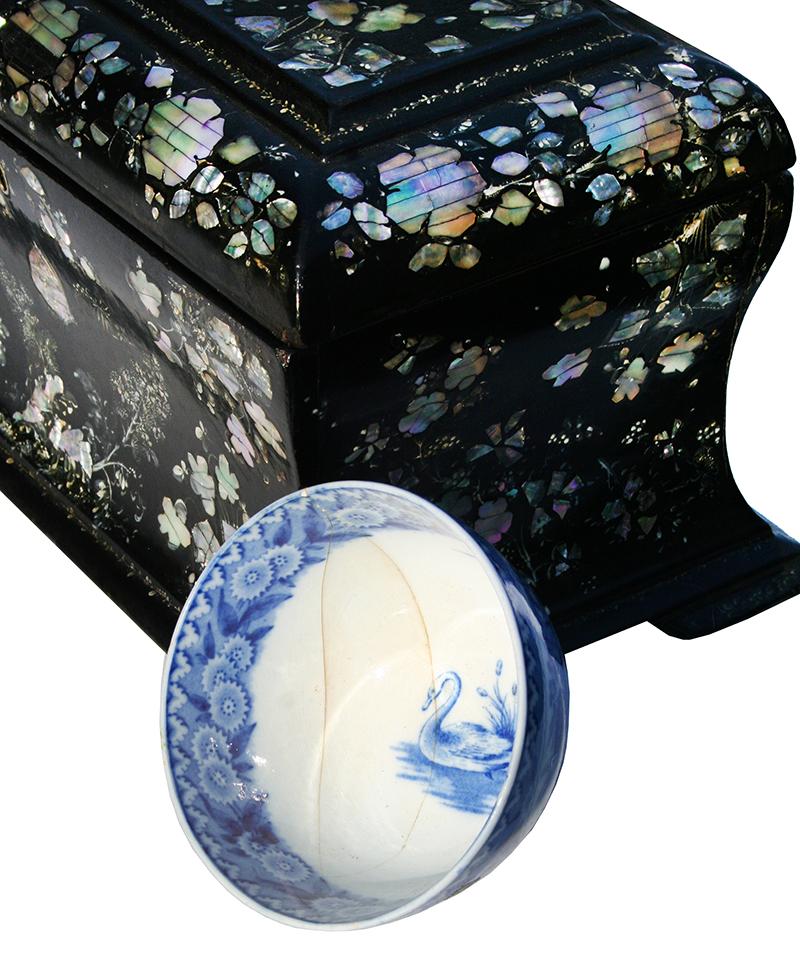Papier mache tea caddy for sale classifieds for Papier mache art for sale