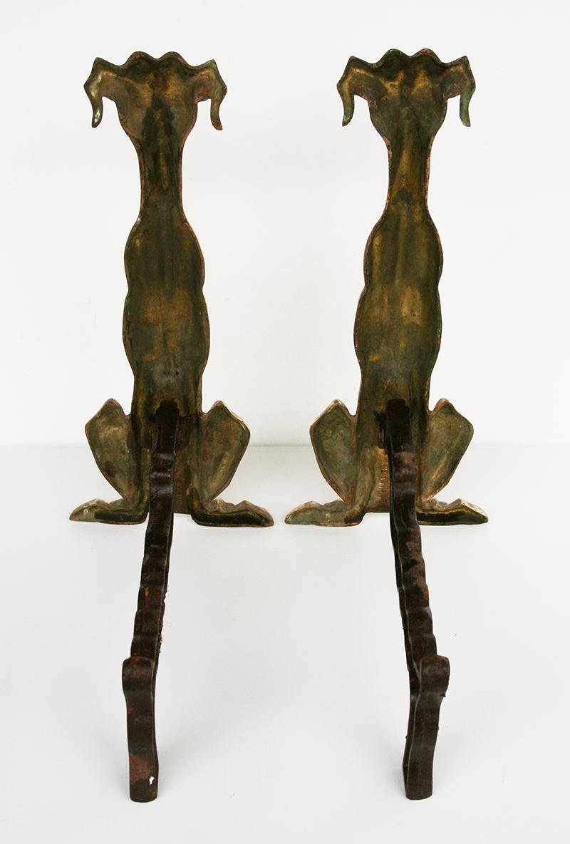 Hound Dog Andirons For Sale Antiques Com Classifieds