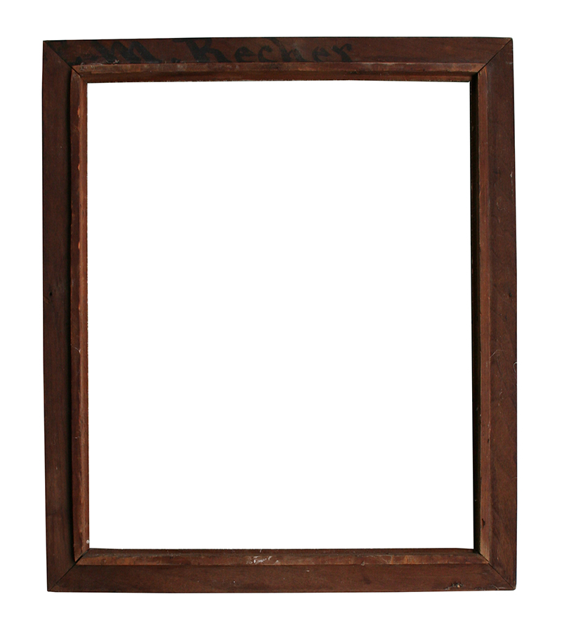 walnut picture frame item 1085ts for sale classifieds. Black Bedroom Furniture Sets. Home Design Ideas
