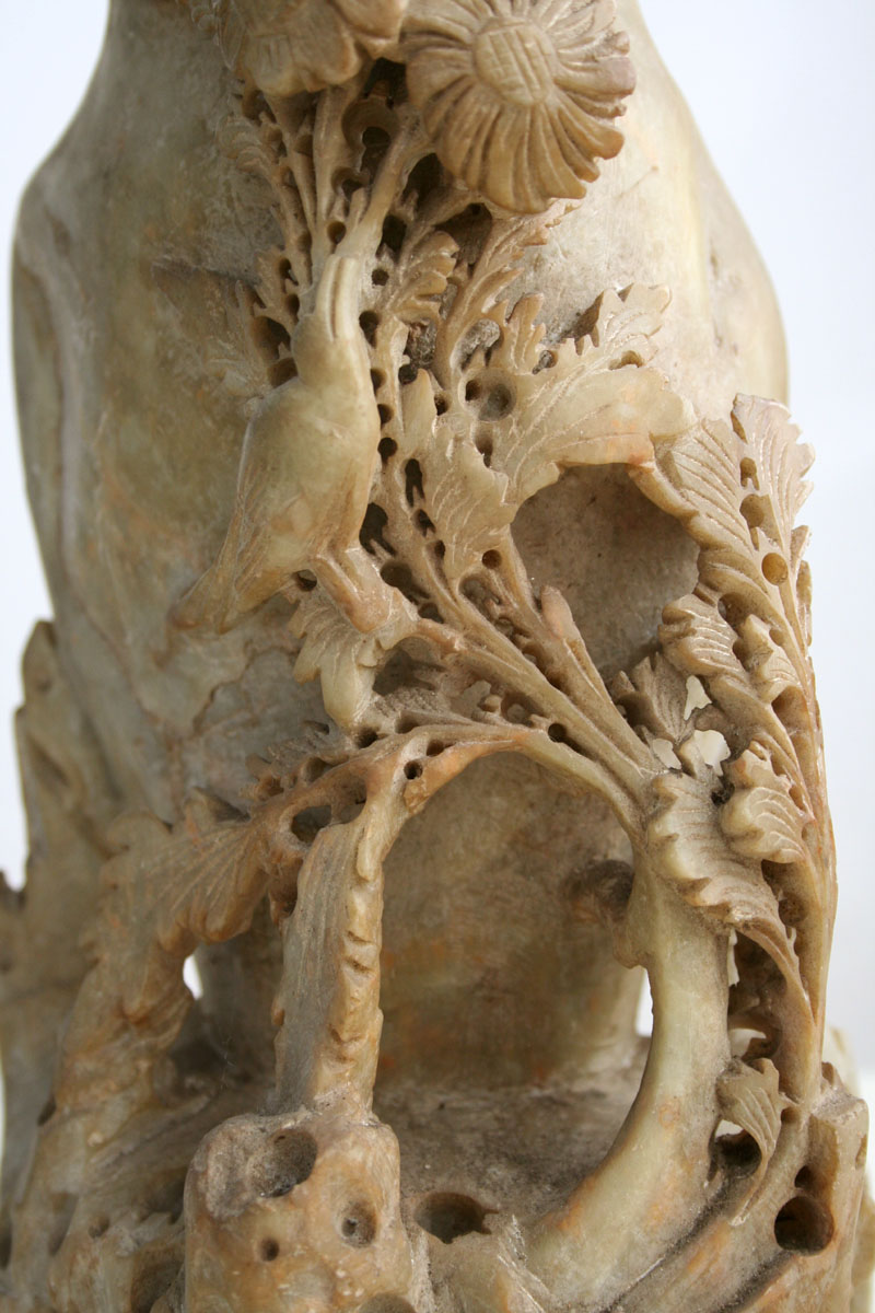 Soap stone vase for sale antiques classifieds