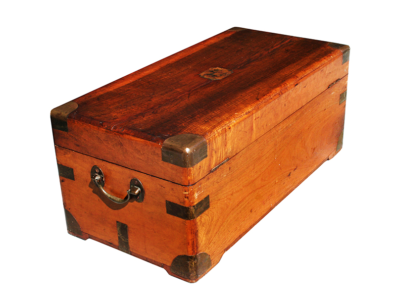 Camphor wood chest tb for sale antiques