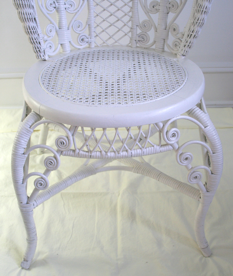 Wicker Chair item ME For Sale