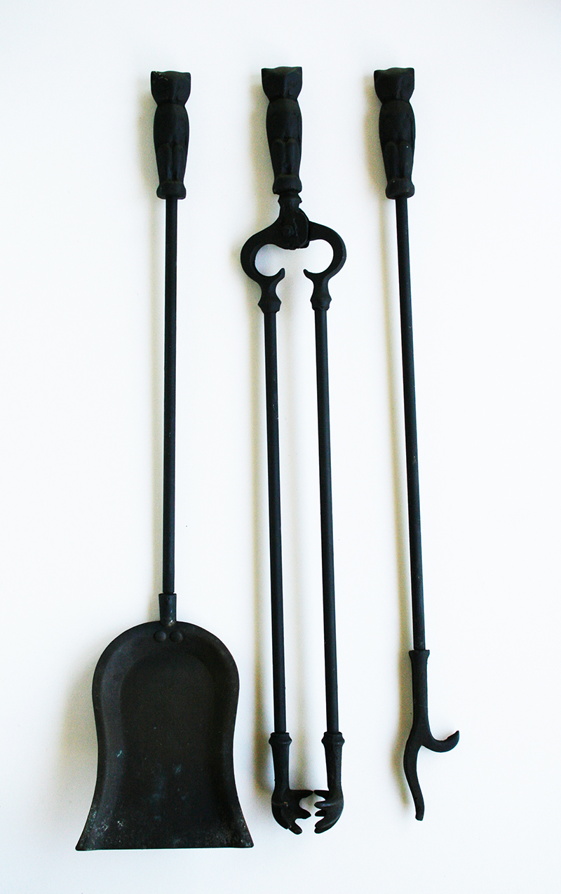 owl fireplace tools item 5142346tb for sale antiques com