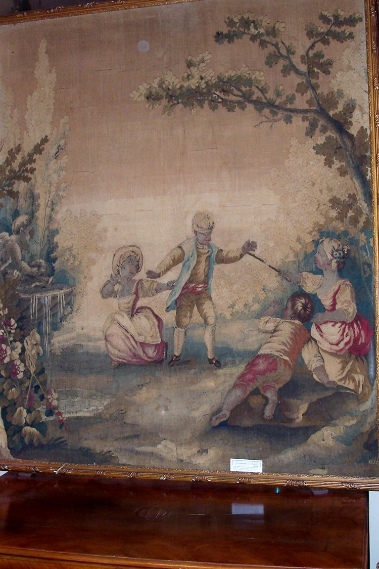 Tapestries An Antique Tapestry Fragment Various Styles