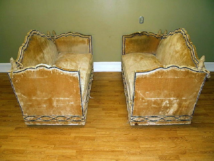 Knole sofas a pair by baker for sale for 80s furniture for sale