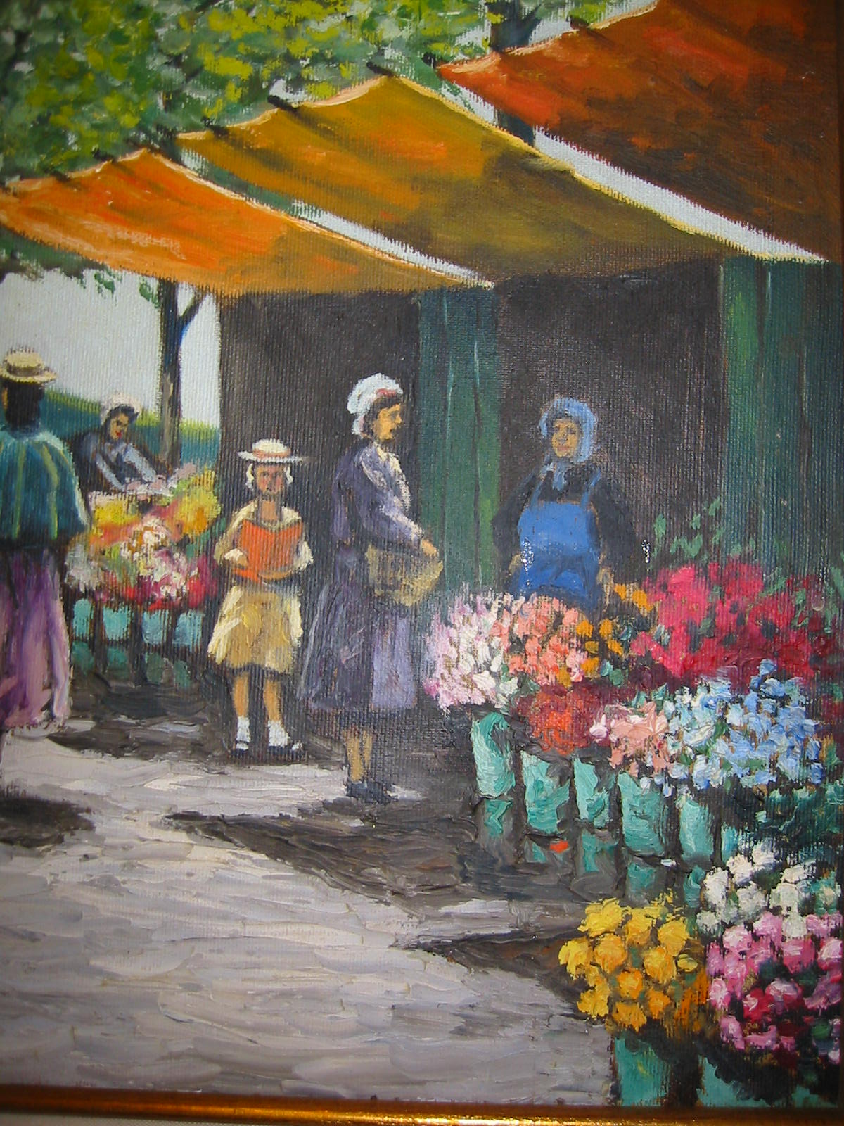 Impressionist City Scene Signed Schuldes For Sale