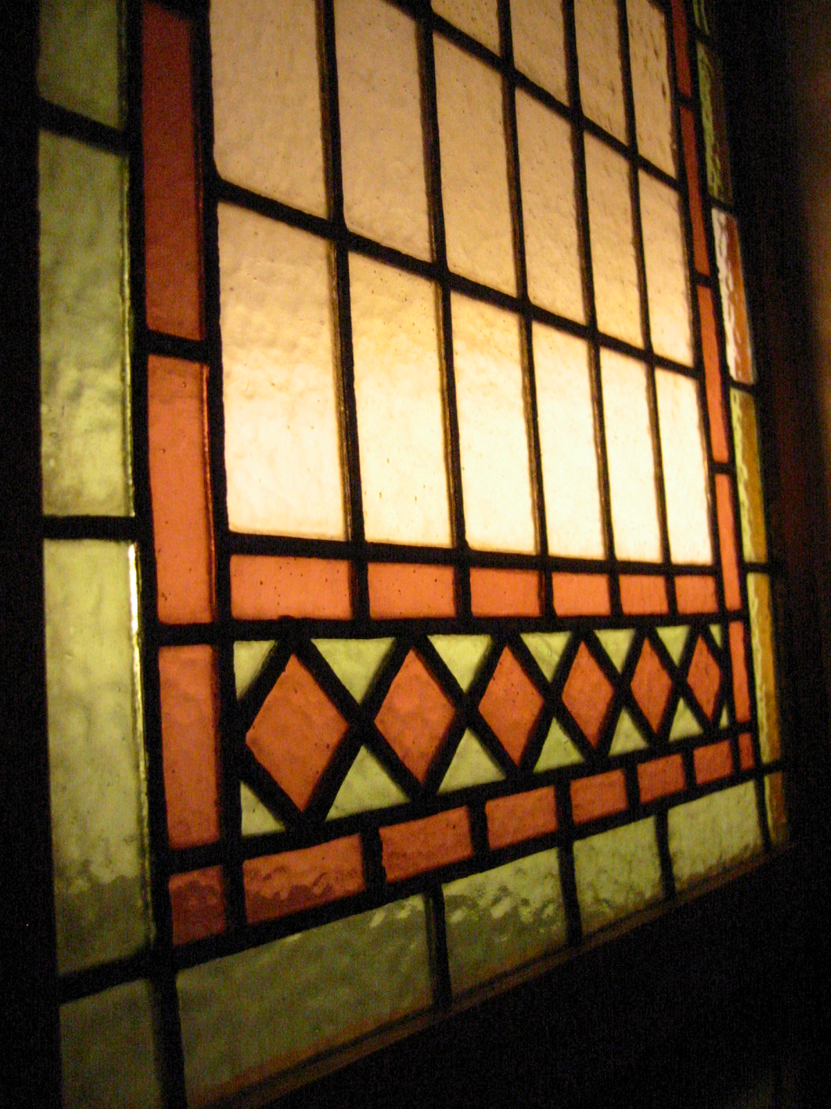 Stained glass wood window panel for sale for Wood windows for sale online