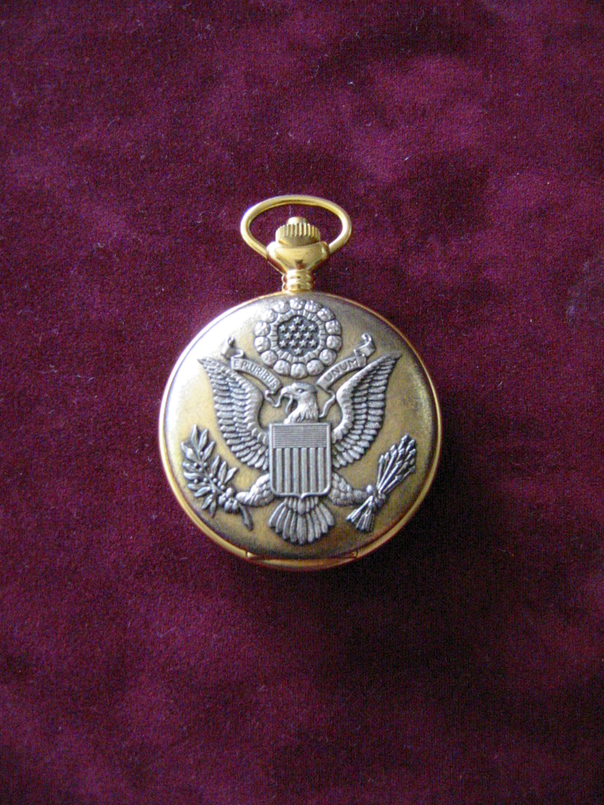 majesti swiss pocket eagle crest globe design for