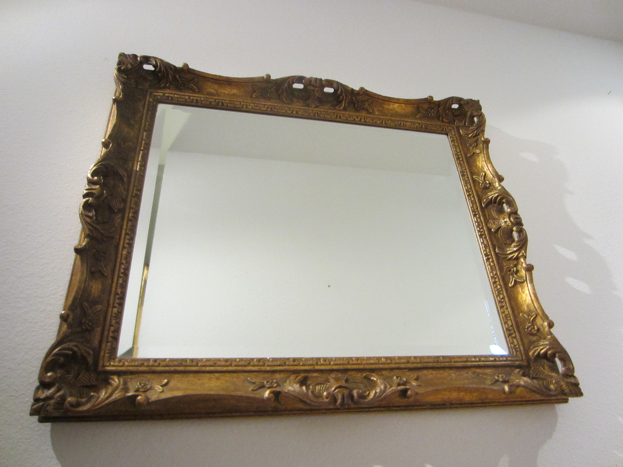 Art deco gilt wood vintage mirror for sale for Mirrors for sale