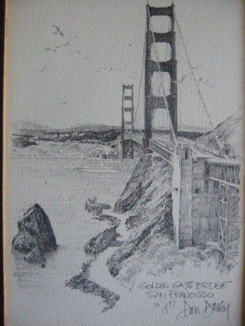 Don davey san francisco golden gate bridge for sale for Famous prints for sale