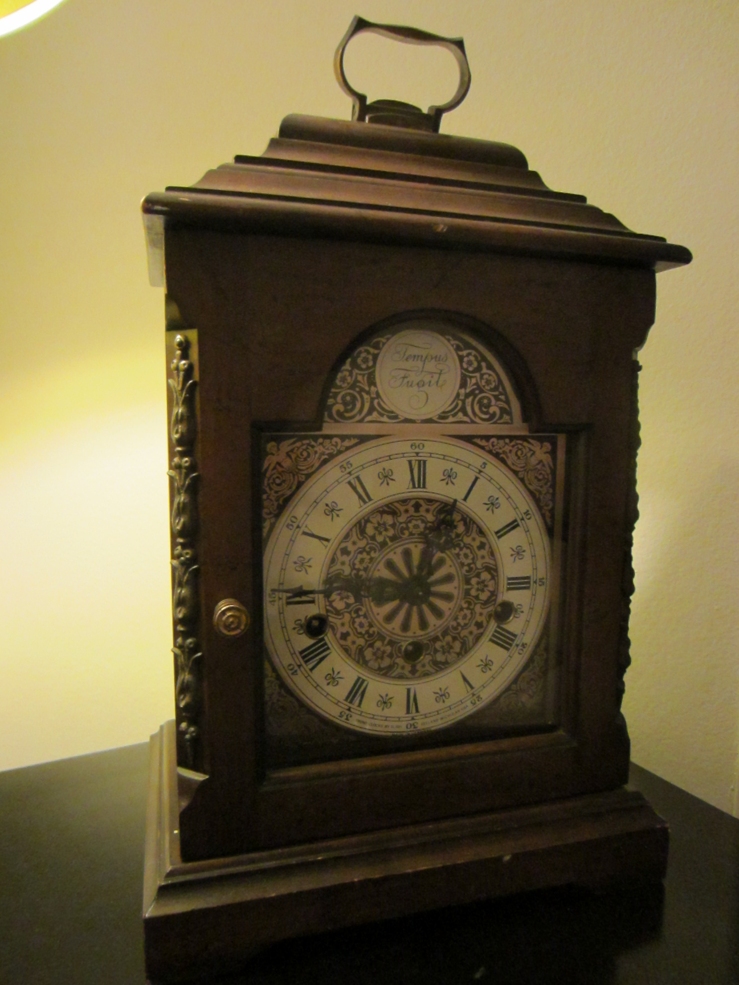 West Germany For Trend Bracket Mantle Clock For Sale ...