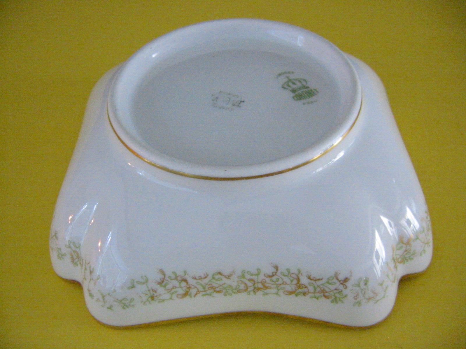 Limoges Coronet France Porcelain Bowl Gilt Decoration For Sale ...