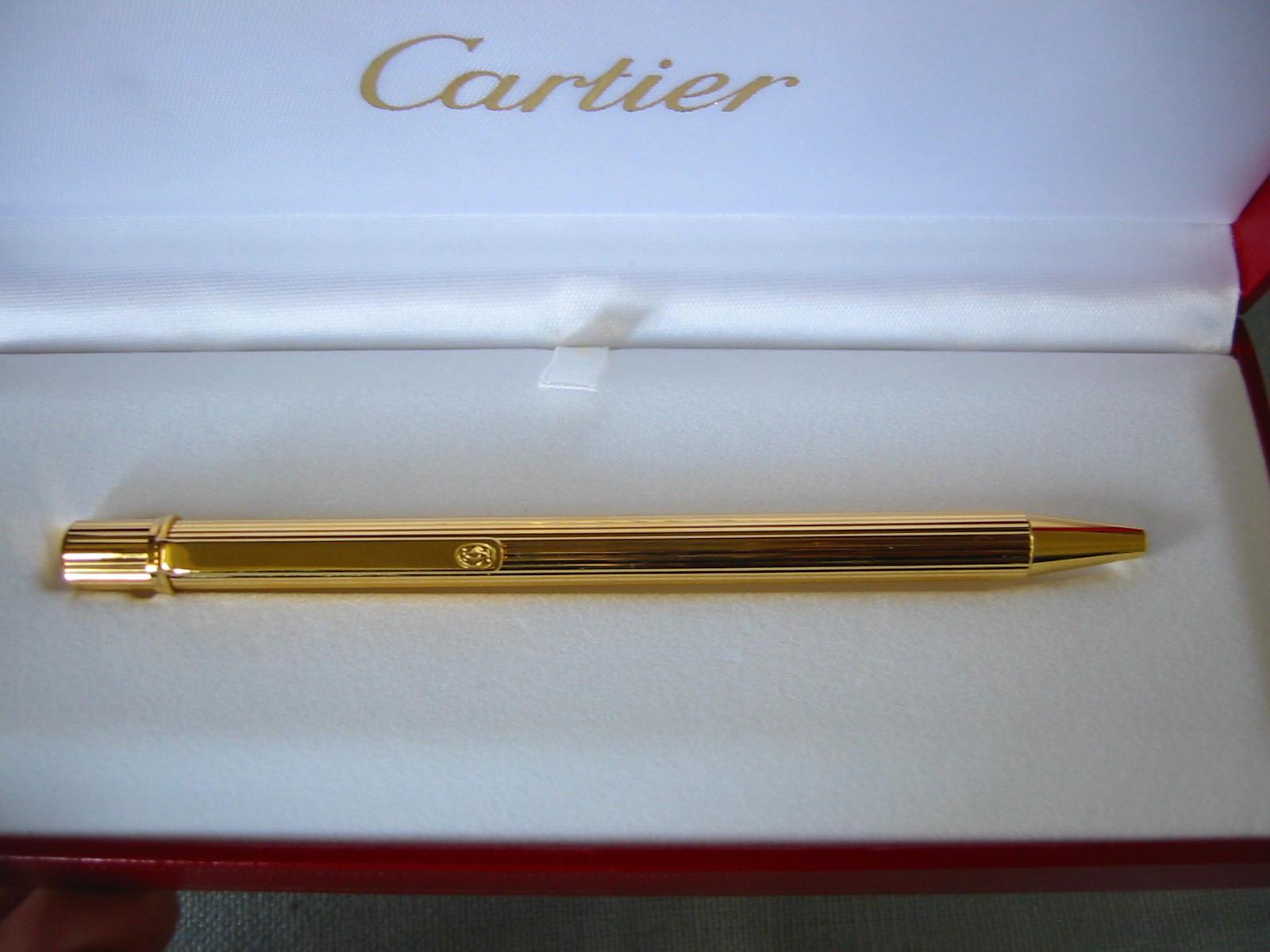 Cartier Golden Pen - For Sale
