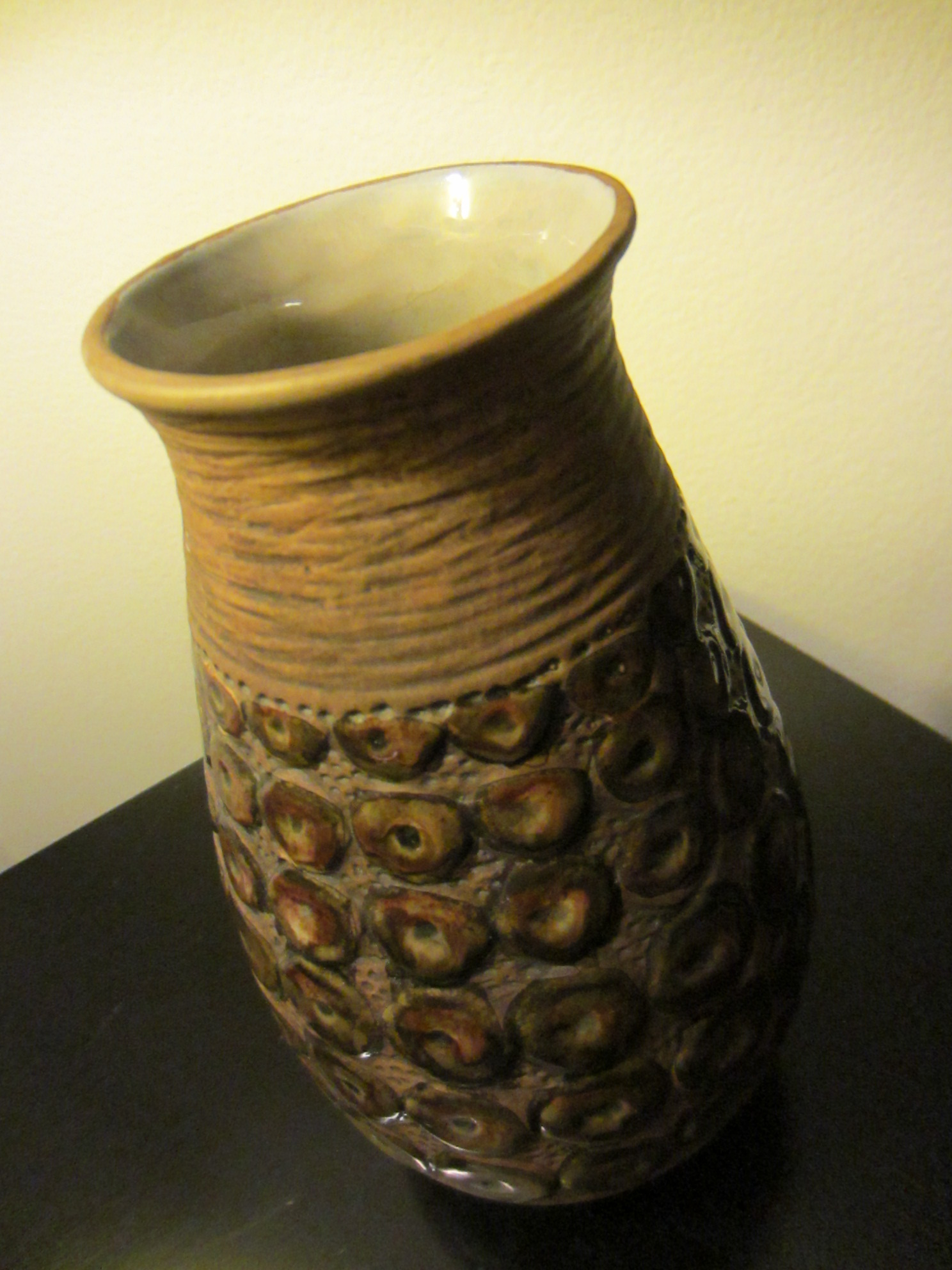 pottery vase 367 usa art deco glaze for sale classifieds. Black Bedroom Furniture Sets. Home Design Ideas
