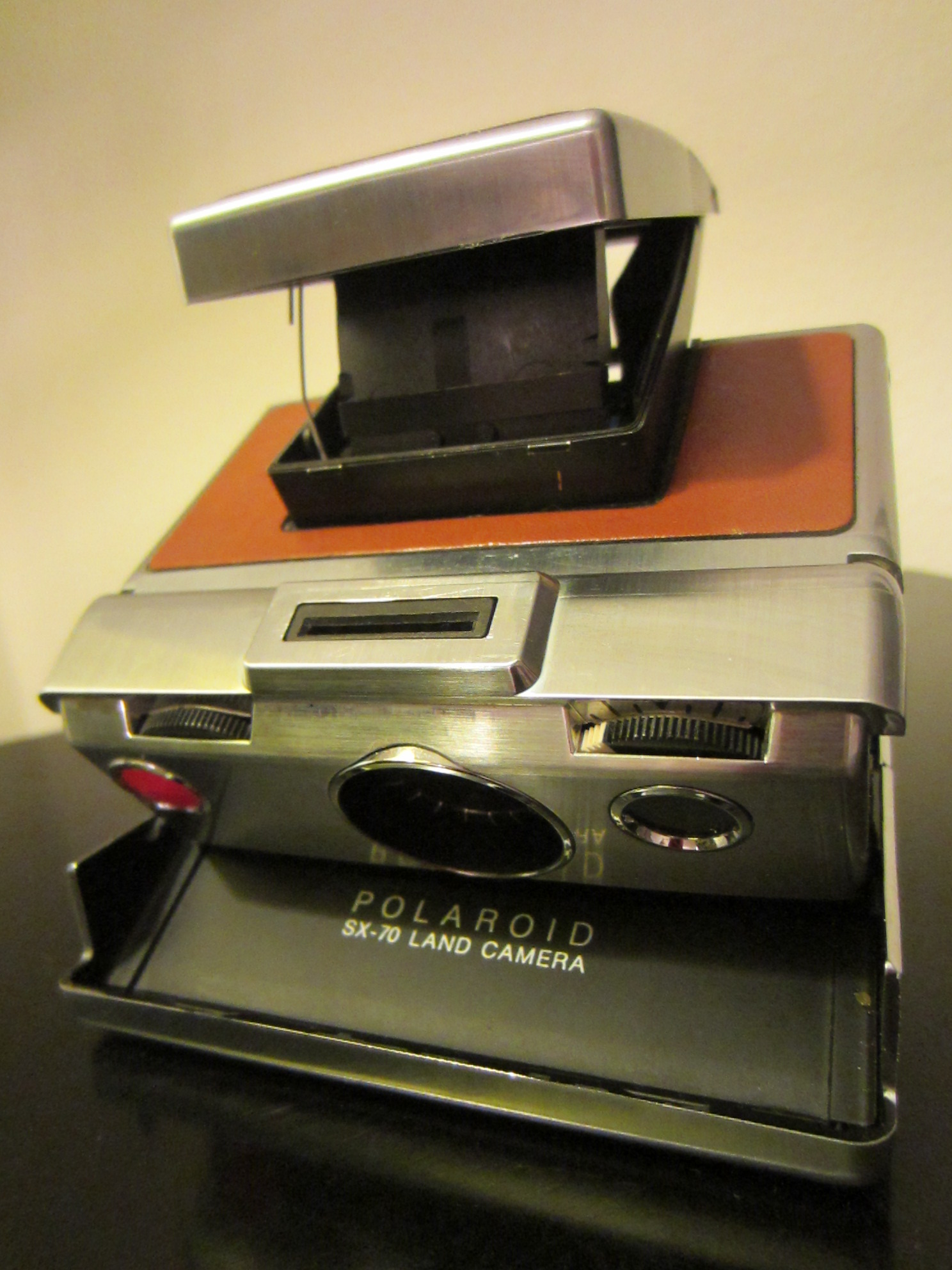 Polaroid Land Camera Sx 70 Leather Case For Sale
