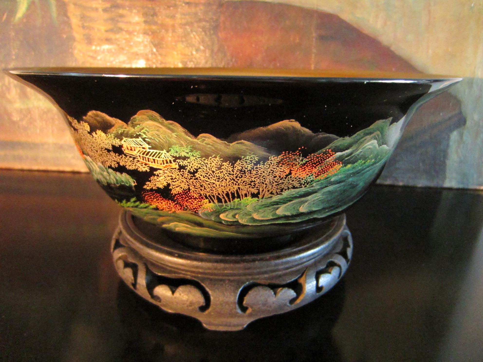 Chinese laquered chinoiserie fish bowl for sale antiques for Fish bowl price