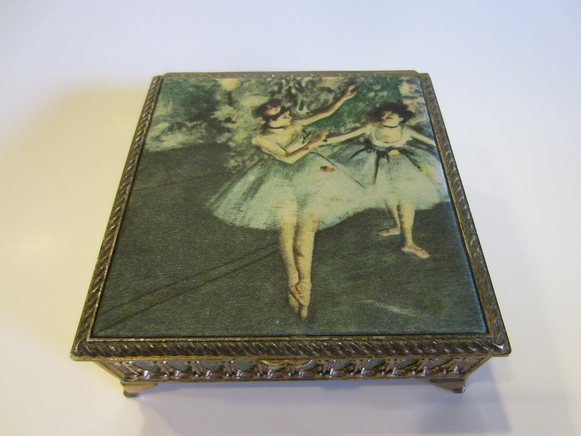 Opinion Vintage antique metal jewelry boxes you thanks