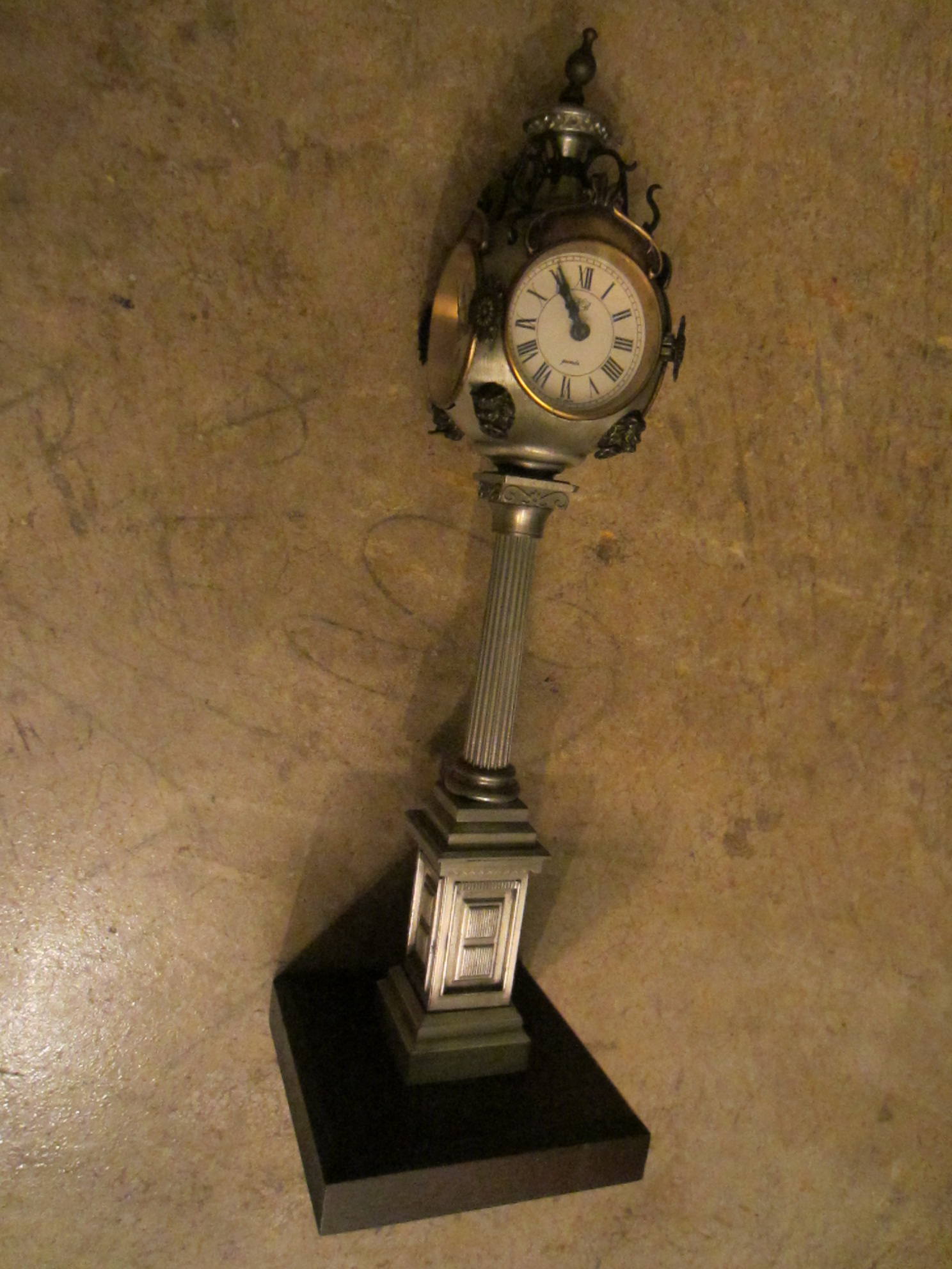 West Germany KB Pedestal Mantle Clock For Sale | Antiques ...