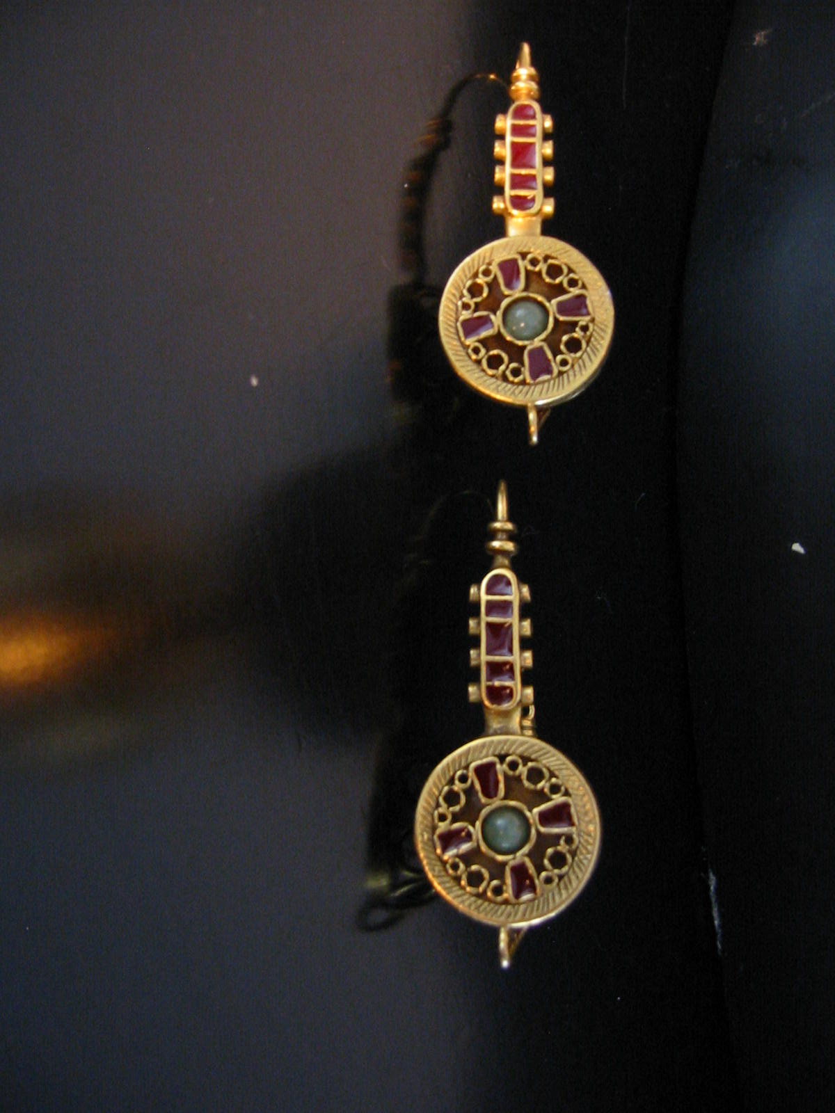 mma brass celtic necklace earrings for sale antiques
