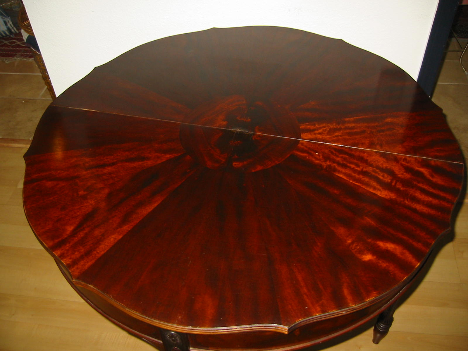 Antique card table regency card table inlaid card table antique - A Regency Mahogany Card Table With Hinged Semi Circular Shape On Turned Tapping Reedded Legs Fold Game Table Makes An Impressive Console Carved Numbers