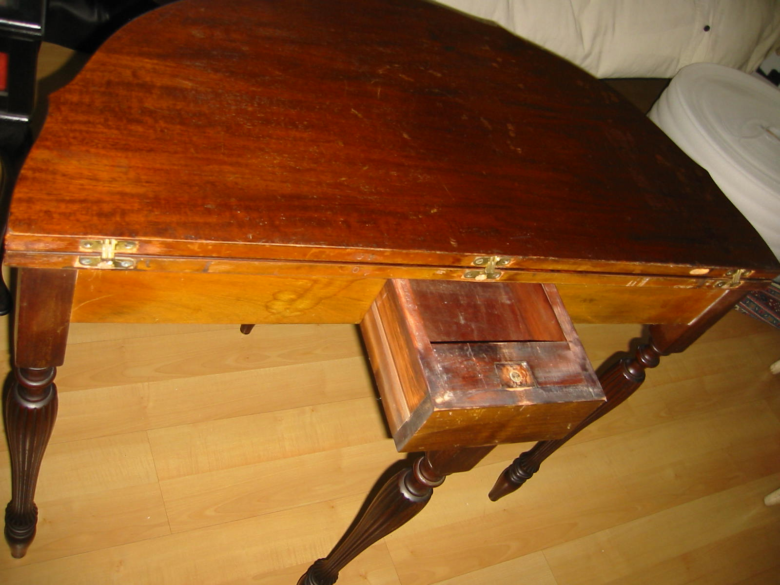 Mersman A Regency Mahogany Inlaid Card Table For Sale Antiques