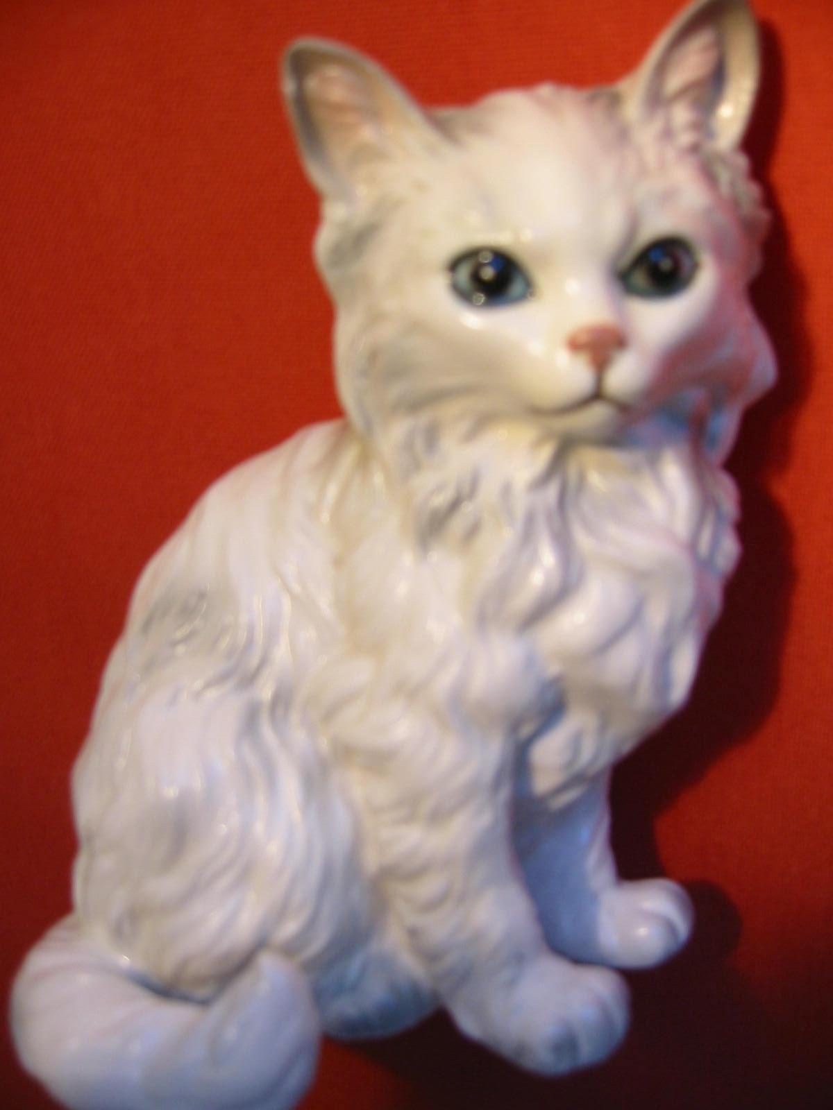 Antique Cat Figurines For Sale