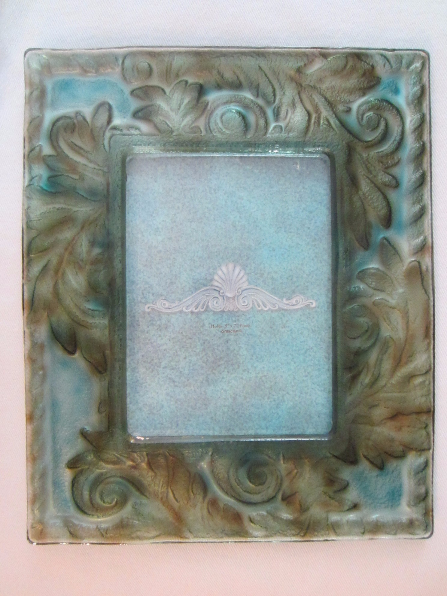 contemporary green blue glass picture frame for sale classifieds. Black Bedroom Furniture Sets. Home Design Ideas