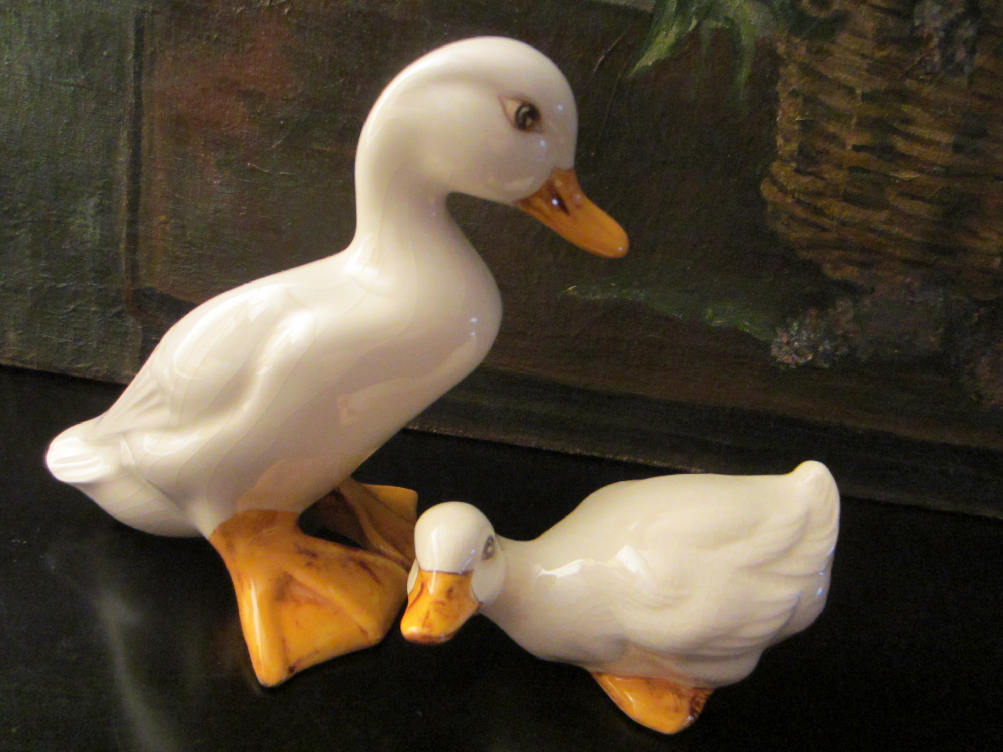 Ceramic Ducks Eva H Mother Baby Signature Figures For Sale ...