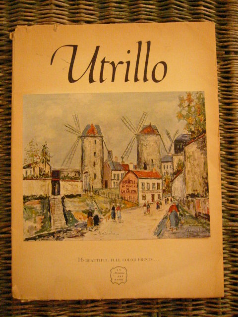 Book Cover Illustrations For Sale : Maurice utrillo prints plates abrams art book