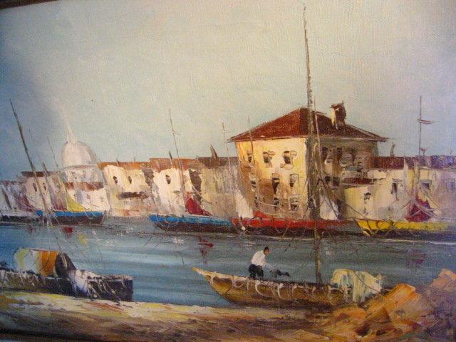 Morgan Seascape Oil On Canvas Coastal Maritime Signed