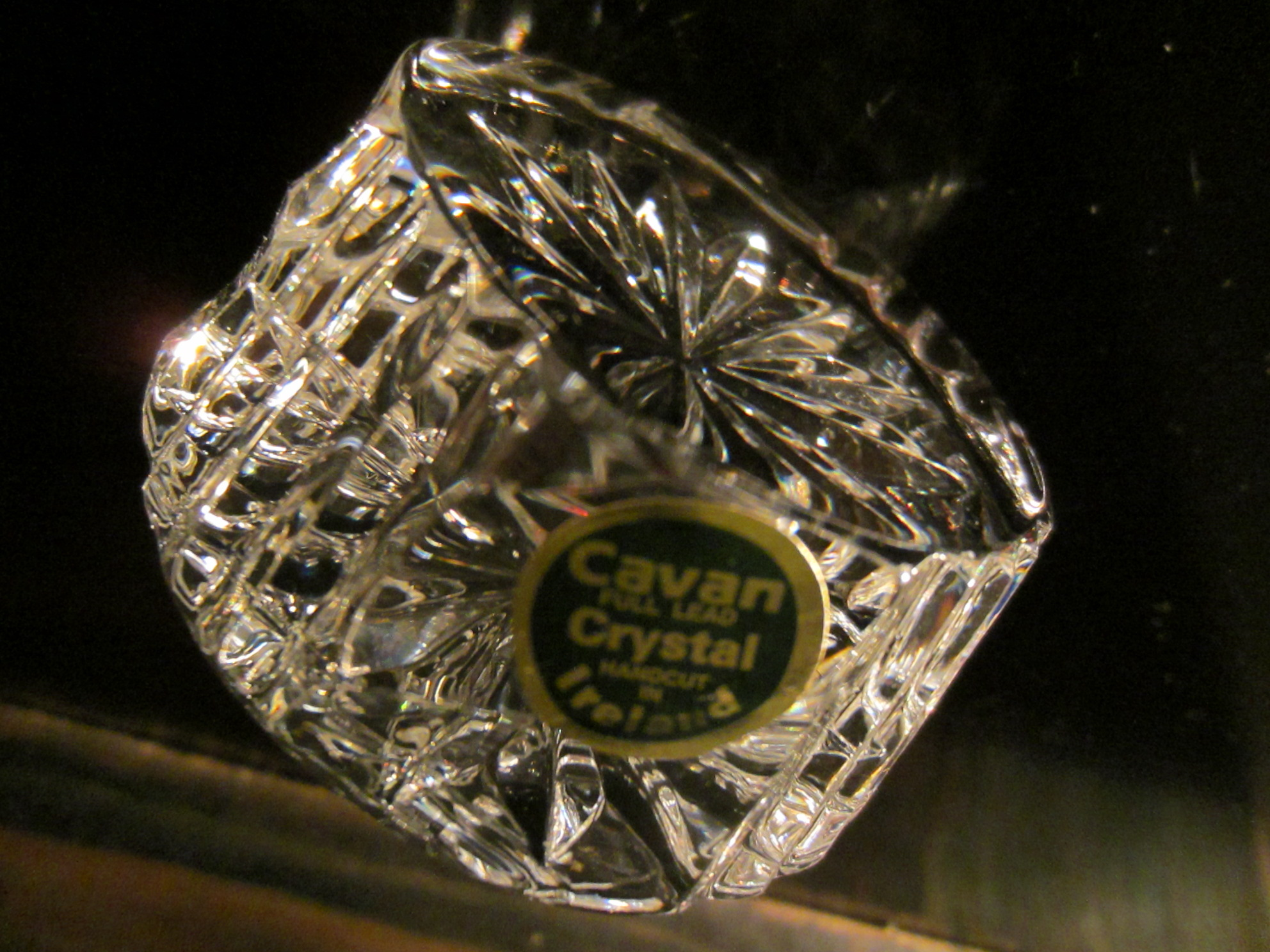 Cavan hand cut crystal paperweight made in ireland for for Cava cristal