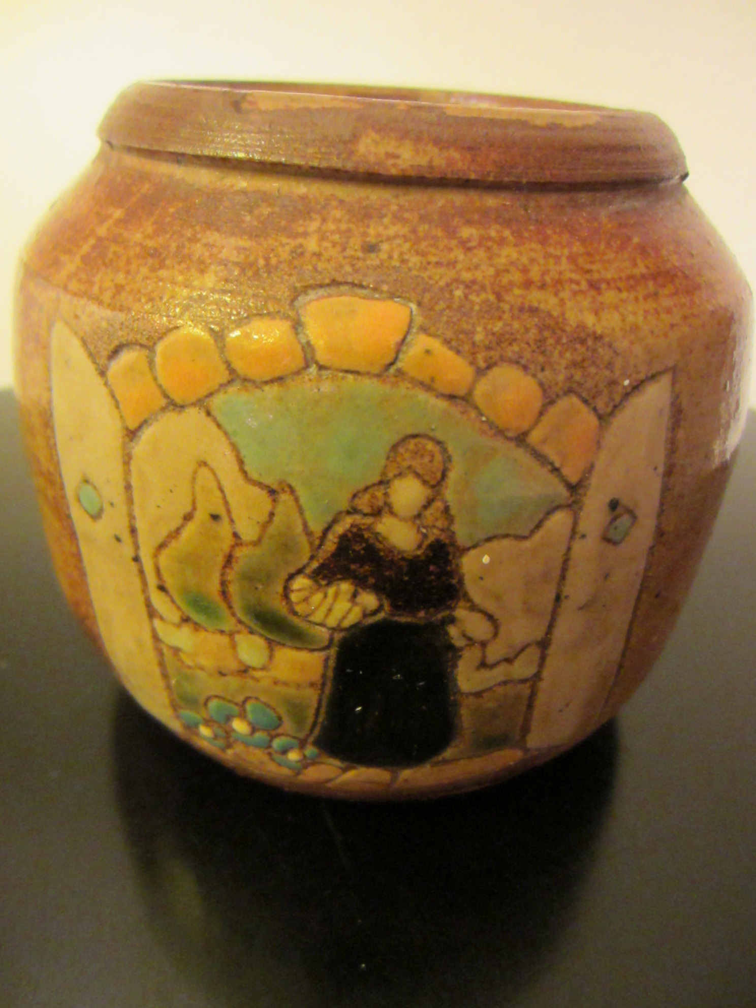 Native pottery vase signed by artist for sale antiques for Native crafts for sale