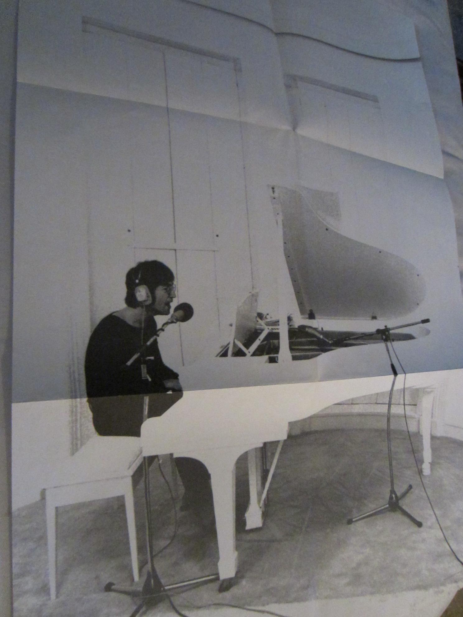 John Lennon Imagine LP Record Poster Photograph