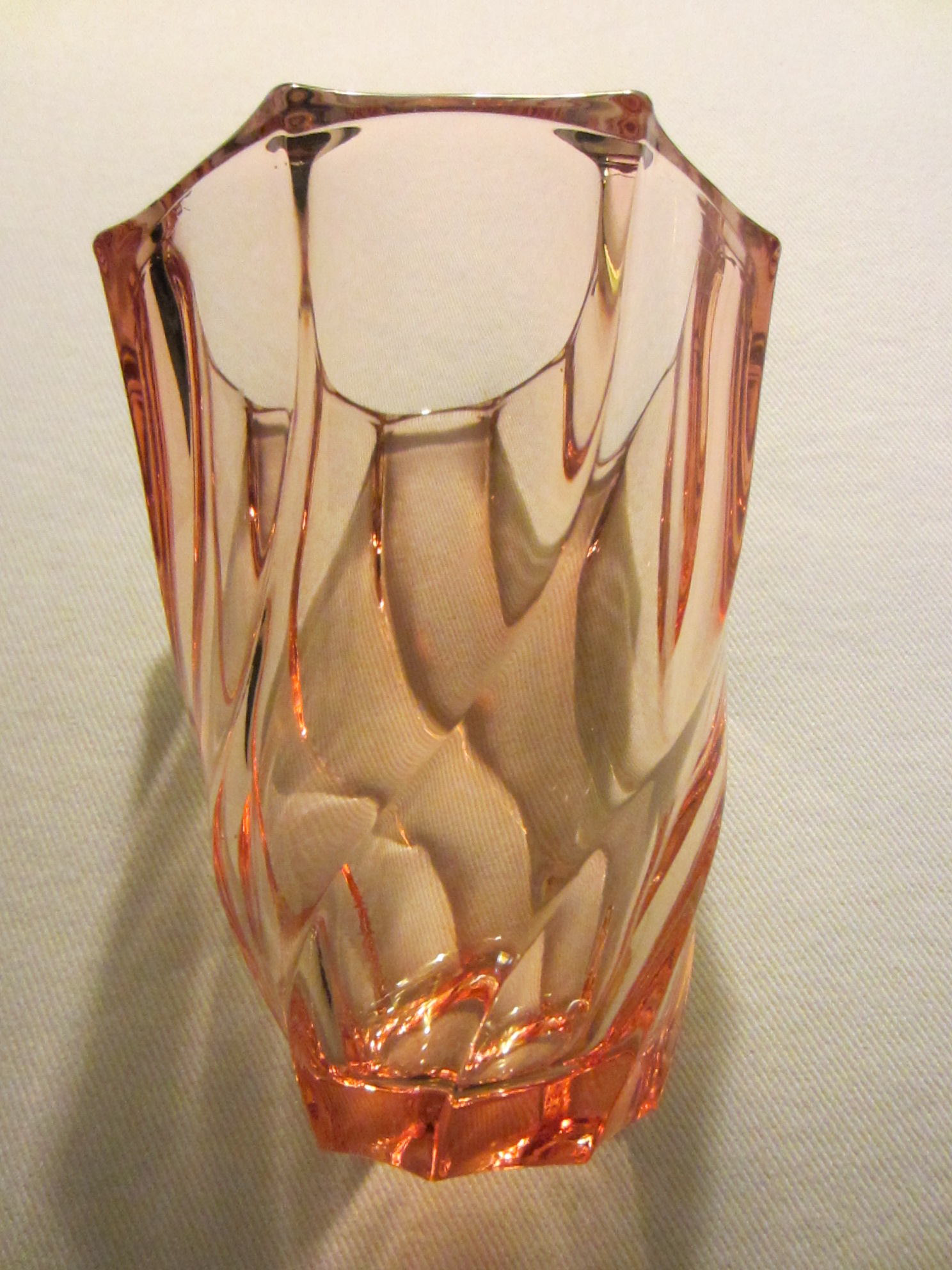 France amber glass flower vase for sale antiques classifieds floridaeventfo Image collections